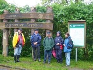 Das Gebiet gehört zum Naturpark Sternberger Seenland.