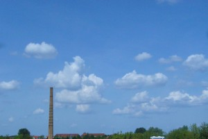 Die Quellwolken und später auch hohe Schleierwolken wurden im laufe des Tages immer zahlreicher.