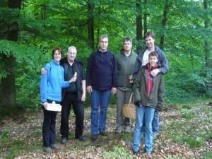 Die Pilzfreunde aus Schleswig - Holstein wurden im mecklenburger Radebachtal fündig.