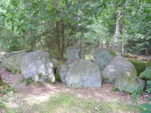 Das Großsteingrab.
