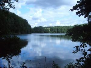 Und wieder am Hohlsee vorbei in Richtung Roter See.