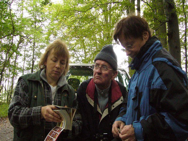 30. September 2007. Irena Dombrowa, Ullrich Bardet und Erika Wittenhagen.
