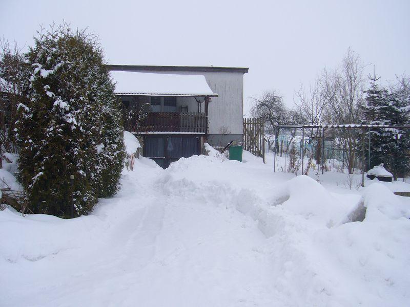 Und im Februar schneite es weiter. 14.02.2010.