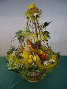 Farbenfroher Osterkorb für 20.00 €.