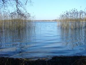 Der Keezer See am Karfreitag 2010. Ein strahlender Sonnentag!