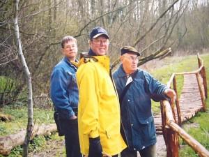 Pilzwanderung im Hellbachtal am 14. April 2004.