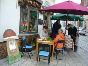 und hinterher ließen sie sich neben vielen anderen unsere beliebte Pilzsuppe schmecken.