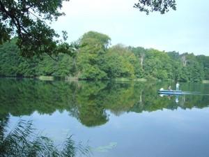 Hier kann man wirlich paradiesisch in der Ruhe mecklenburgs entspannen. 01. August 2010.