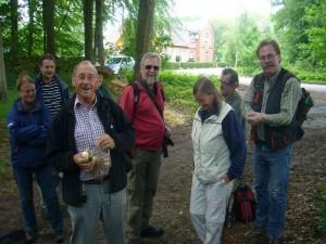 Heute konnten wir auch wieder erstmals in diesem Jahr Klaus Warning, den Pilzberater aus Bützow, in unserer Mitte begrüßen.