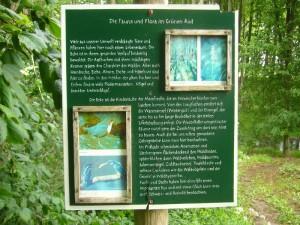 Zu Beginn des Wanderweges durch das Beketal informiert dieses Schild den Wanderer über Besonderheiten dieses wunderschönen, wilden und naturbelassenen Bachtals.