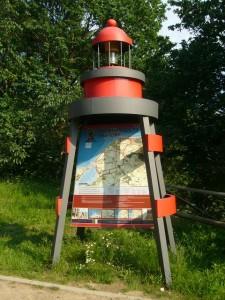 Dieser originelle Leuchtturm