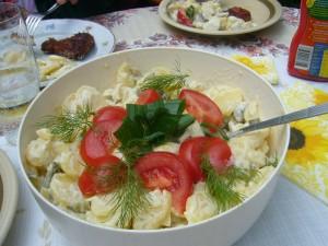 Im Anschluß waren wir wieder einmal zu Klaus Warning und seiner Frau in ihren idyllischen Garten in Bützow, direkt am Warnow - Ufer zum Kartoffelsalat mit Schnitzel und Bouletten eingeladen. Es har wieder Super geschmeckt und nochmals herzlichen Dank dafür. 26.06.2011.