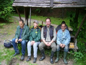 Selbstverständlich gibt es hier auch ordentliche Sitzgelegenheiten. 17.07.2011.