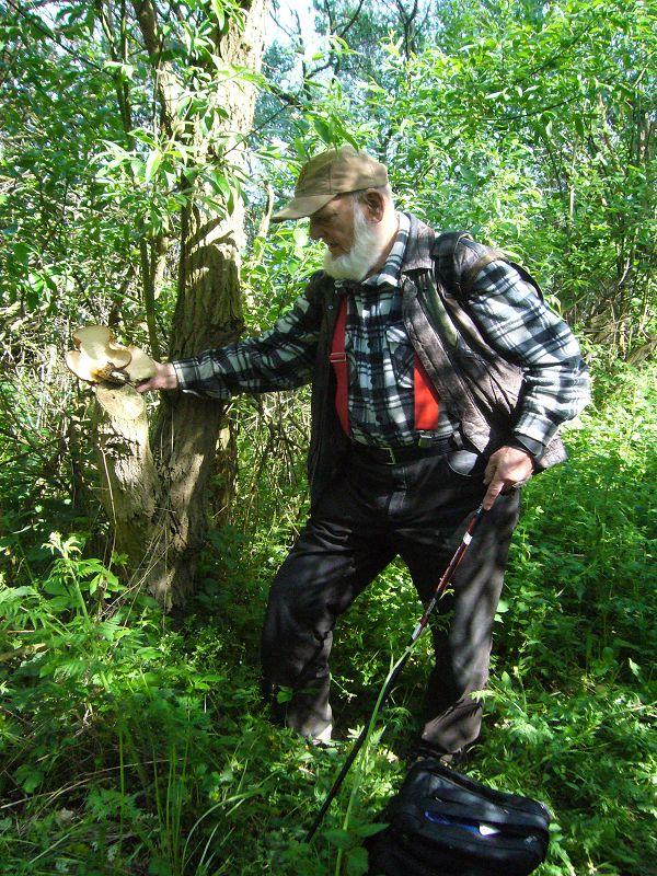 Ulf Erik Moll auf einer Ostseeküstenwanderung von Wohlenberg bis nach Hohen Wieschendorf am