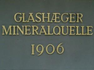 Seit 1906 als vorzügliches Mineralwasser bekannt, wurde es ab 1908 auch als solches genutzt und seit 1910 vom kaiserlichen Patentamt geschützt.