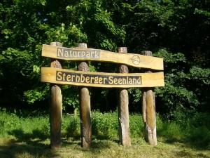 Das waldreiche Gebiet gehört zum Naturpark Sternberger Seenland.