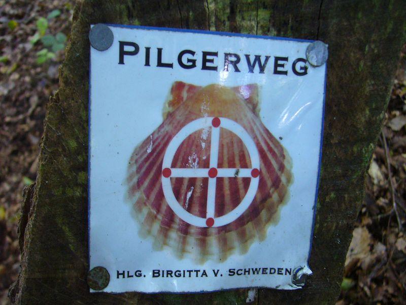 Die Gruppe um Reinhold Krakow wandelte teils auf den Pilgerpfaden der heiligen Brigitta von Schweden. Immerhin gehörte Wismar in früheren Zeiten zum Königreich Schweden.