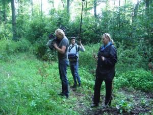 Hier hat das Kamerateam etwas interessantes entdeckt, was genau werden wir vieleicht im Beitrag am 15.09.2012 im N3 Fernsehen in der Sendung Land und Leute erfahren.