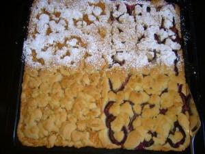 Zum Kaffee gab es eigens für uns selbstgebacken Apfel- und Pflaumenkuchen, nach dem man sich alle zehn Finger lecken konnte. Einfach köstlich!