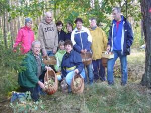 Und zum Schluss wieder ein Gruppen- und Erinnerungsfoto an eine recht schöne Wanderung durch den Kobander Tannen am 07. Oktober 2012.