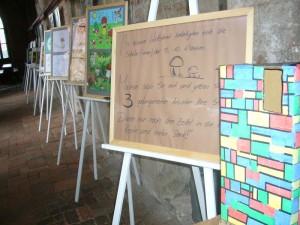 Auch diesesmal gab es wieder den Schülerwettbewerb im Pilze zeichnen. Hier konnte jeder seinen Lieblingsbildern eine Stimme geben.