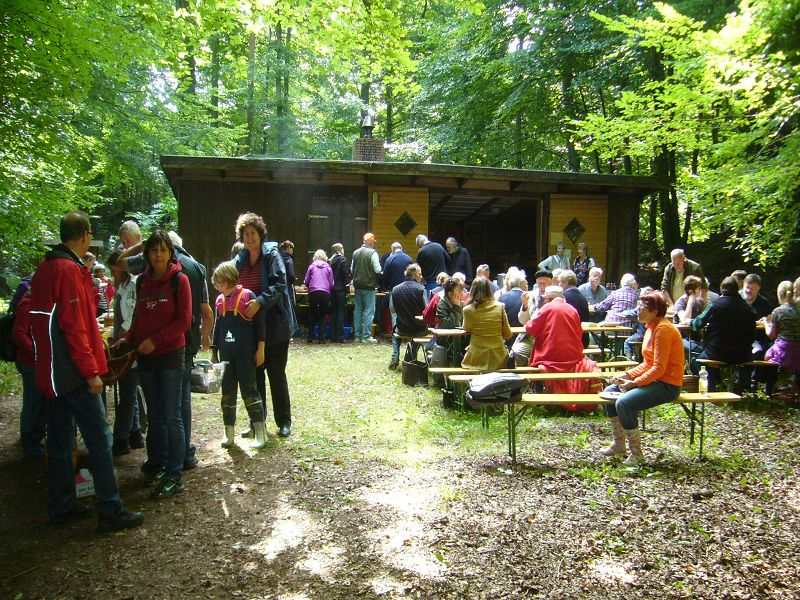 Großer Andrang herrscht jedes Jahr zum traditionellen Pilzesuchen und Pilzbraten auf dem Forsthof im Schleswig - Holsteinischen Ritzerau. Nachdem in mehren Gruppen geführte Pilzlehrwanderungen durch den Ritzerauer Forst stattfinden, wird im Anschluß zum großen Pilzberbaten eingeladen.