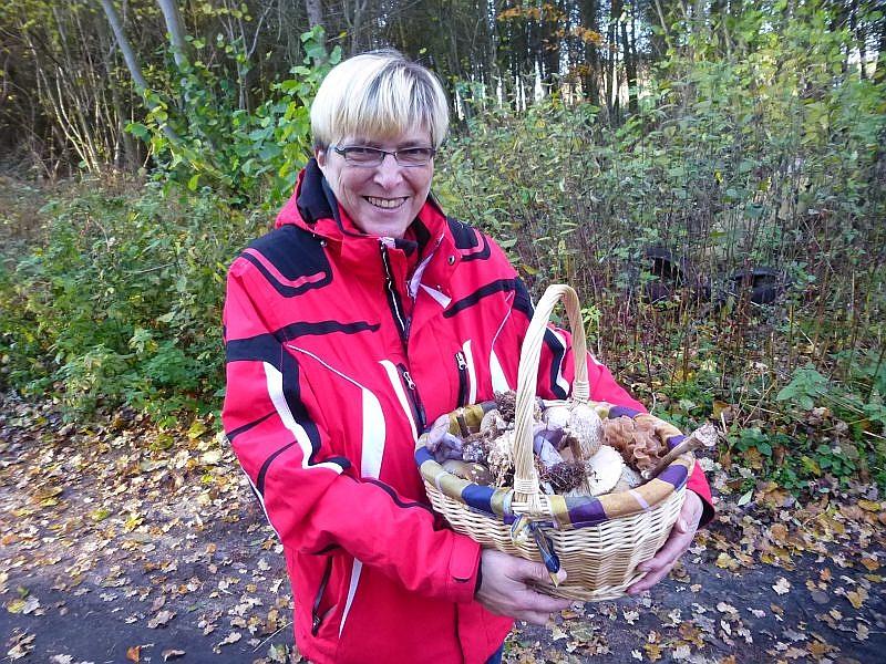 Bei eionigen Pilzfreunden hat es sich heute doch noch so richtig gelohnt, so wie bei Sabine aus Schwerin. Wir wünschen guten Appetit!.