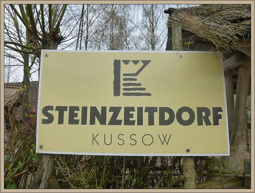 Danach schauten sich einige bei dieser Gelegenheit noch das Steinzeitdorf in Kussow an.