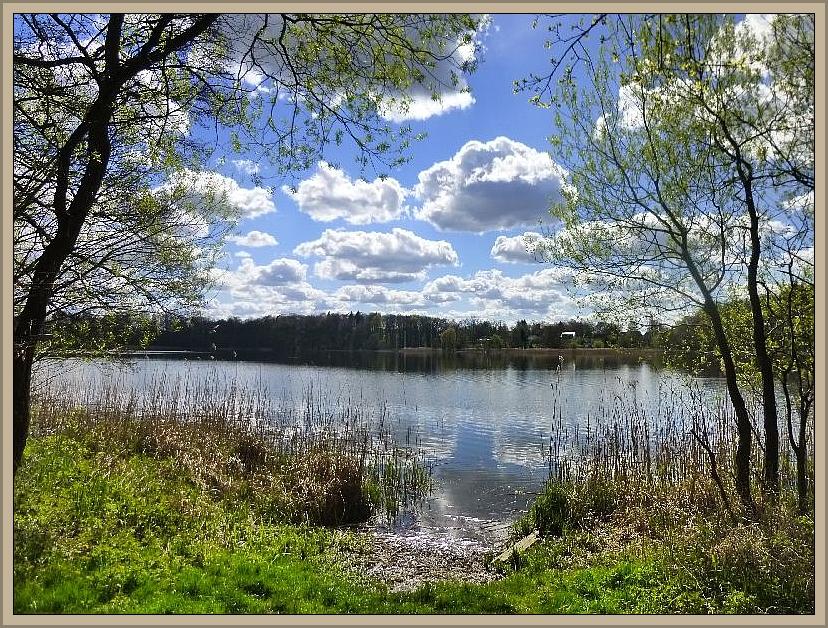 Mit dieser stimmungsvollen Landschaftsaufnahme von heute Mittag möchte ich Teil 2 unseres April - Tagebuchs eröffnen. Sie zeigt den Klein Trebboiwer See. Hier führt am 27. April unsere erste Vereinsexkursion in diesem Jahr hin. Foto: 16.04.2014.
