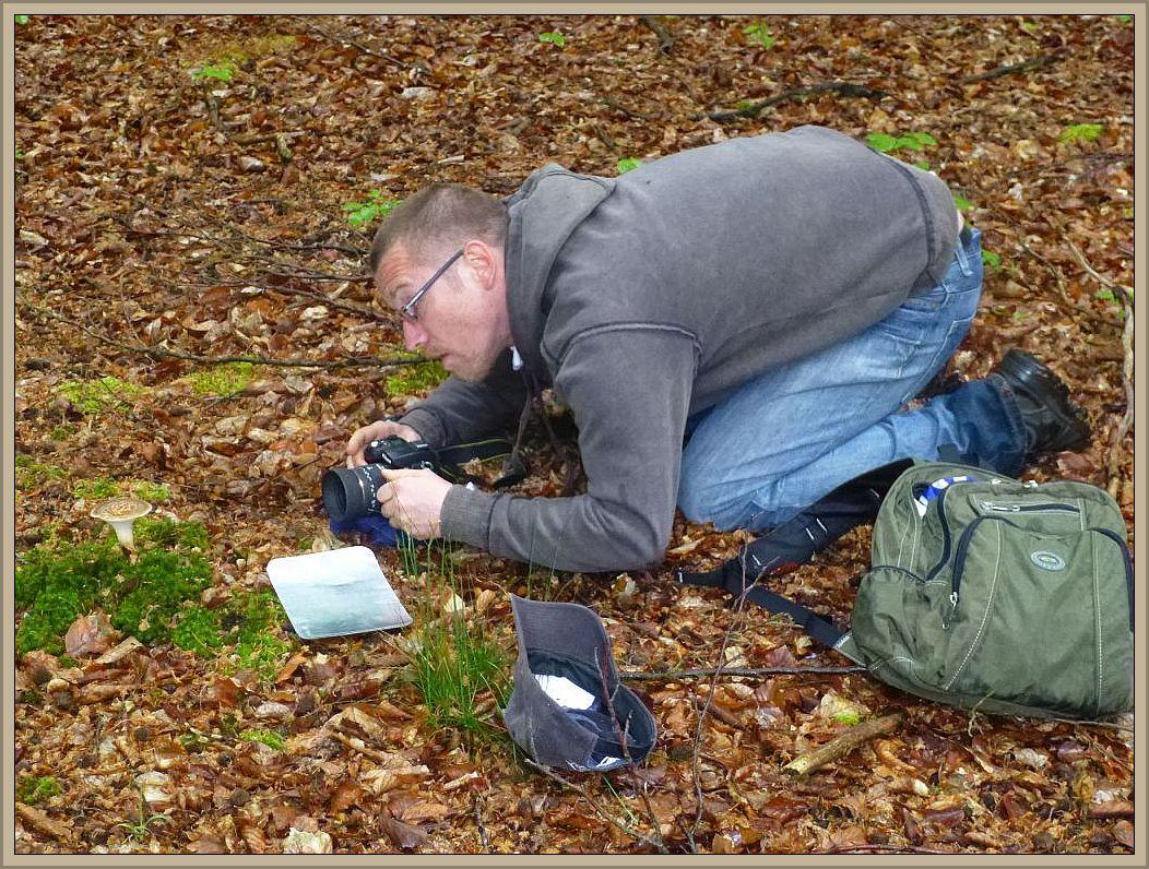 Beim fotografieren steht Andreas unter höchster Anspannung und selbst die Luft wird angehalten. Wenn das mal immer gut geht?