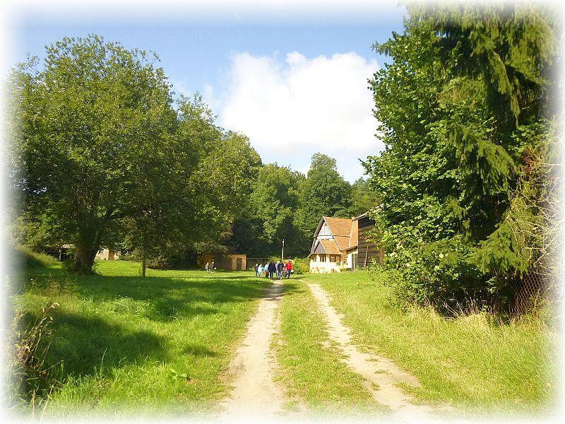 Mitten im Wald ein idyllisches Anwesen - der Horsthof.