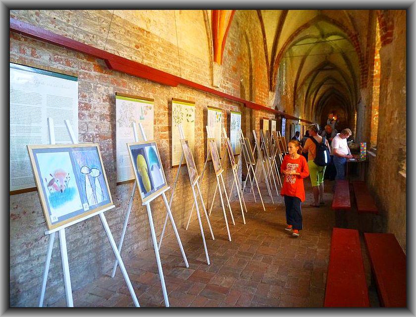 Wie in jedem Jahr konnten die Besucher zu einem Schülerwettbewerb mit Gemälden und Zeichnungen zum Thema Pilze ihre Berwertung abgeben. Wer die Wahl hat, hat die Qual. Es waren wieder wunderschöne und eigenwillig - originelle Arbeiten darunter.