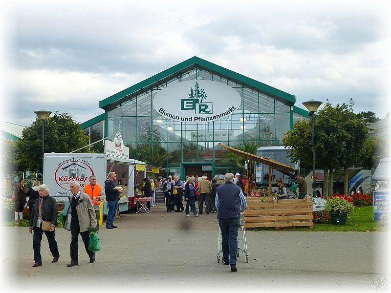 In diesem riesigen Gartenmarkt in Schürsdorf in Schleswig - Holstein, waren wir zur Pilzberatung eingeladen worden.