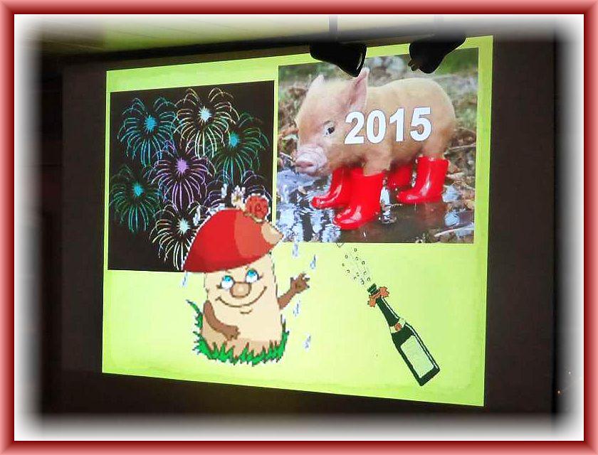 In diesem Sinne Prosit Neujahr auf ein pilzreiches 2015.