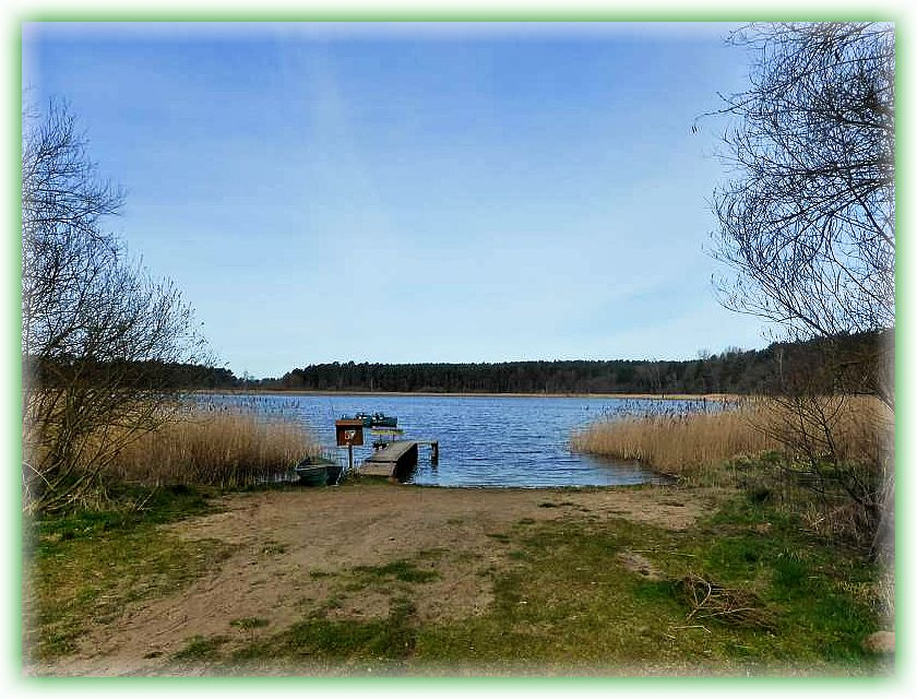Der Neuschlagsdorfer See bei Alt Schlagsdorf war heute Ausgangs- und Endpunkt unserer ersten Vereinsexkursion in diesem Jahr.
