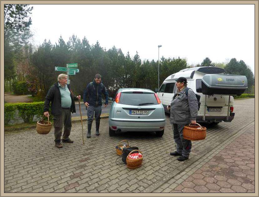 Ankunft und Auftakt zum 2. Exkursionstag in Bad Kleinen.