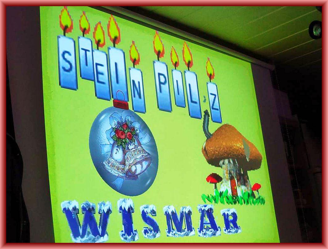 Immer wieder wunderbare, verspielte und zauberhafte Motive in der Power - Point - Präsentation rund um den Steinpilz - Wismar.