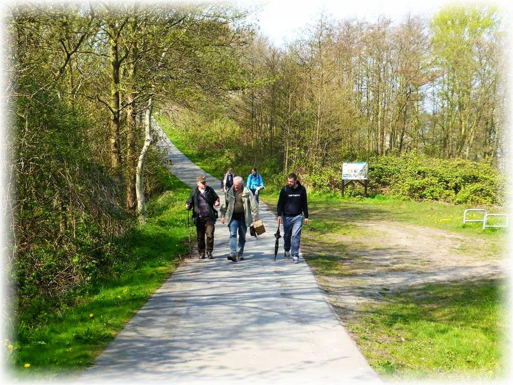 Und weiter geht es den Ostsee - Radwanderweg durch die etwas anspruchsvolle, hügelige Landschaft. Ja das Land ist bei uns nicht nur Platt!