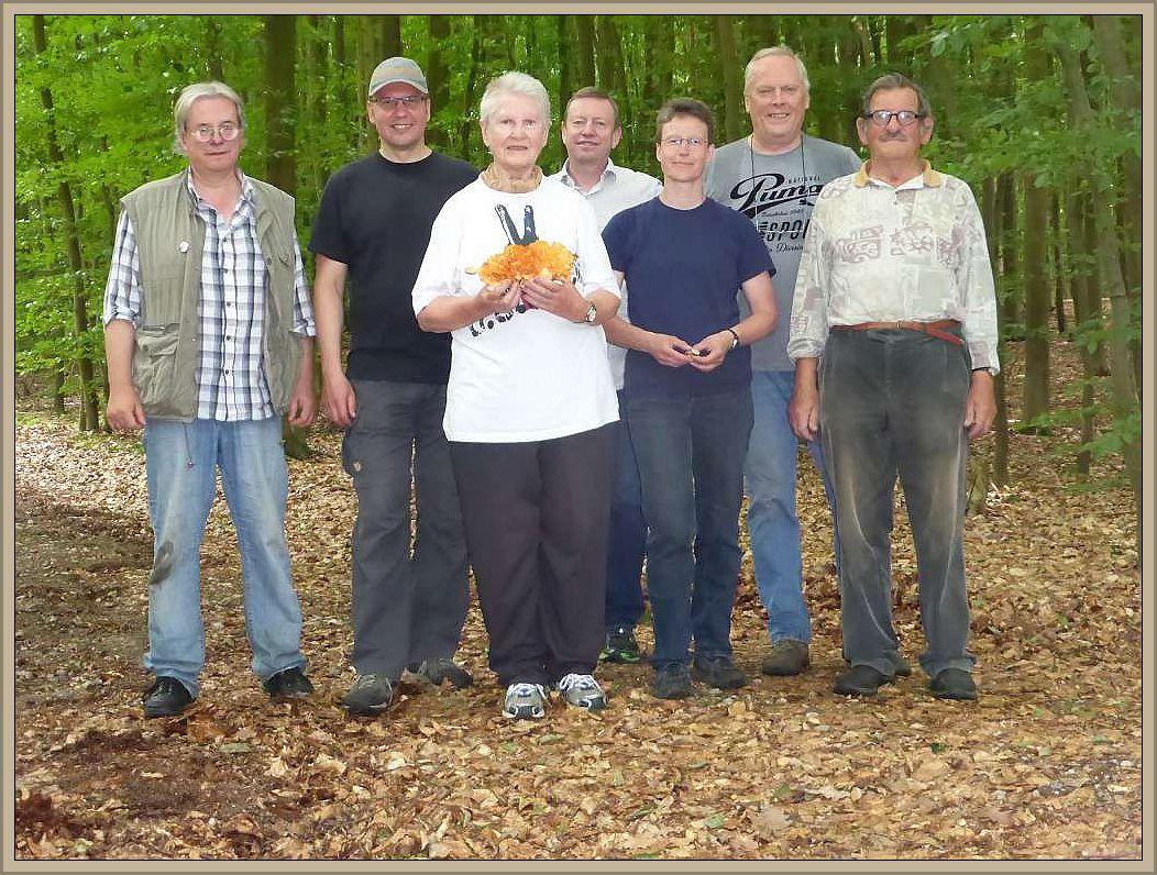 Unser Erinnerungsfoto im Eichholz am 25. Juni 2016.