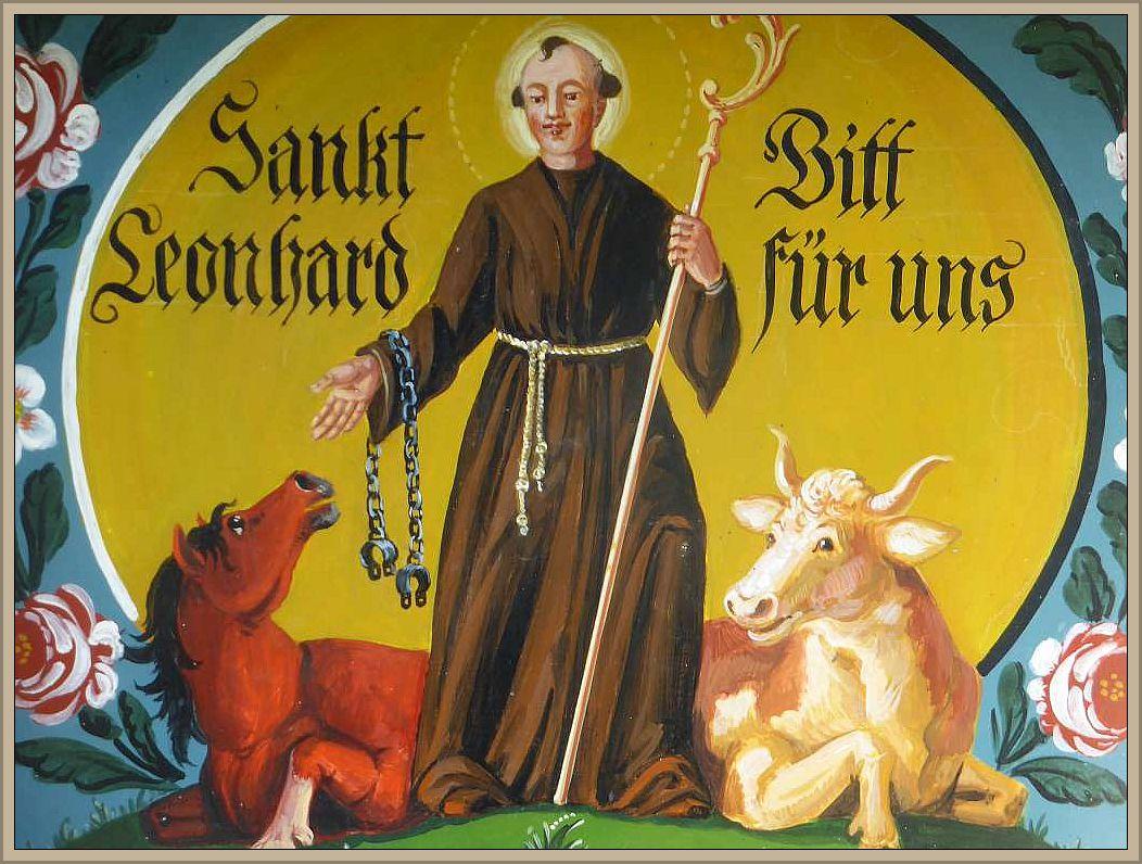Beschützt vom heiligen Leonhard.