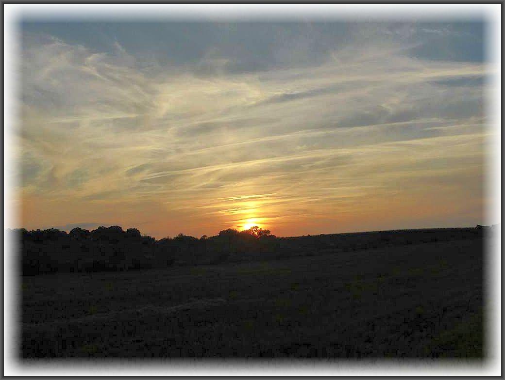 Sonnenuntergang bei Greese.