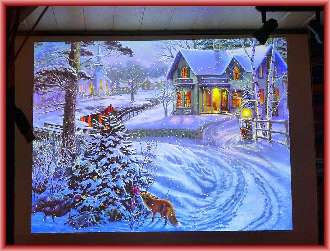 Ein traumhaftes Weihnachtsmärchen wie aus Kindertagen.